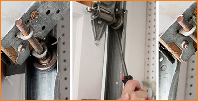 Garage Door Cables, Rollers, Hinges & Tracks Repair Services